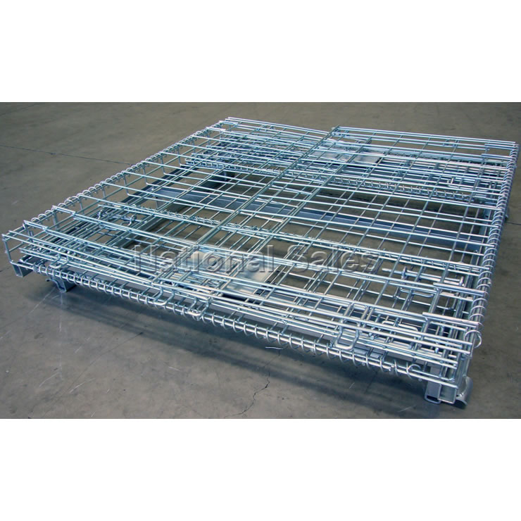 Forklift cages wire mesh pallet cage