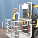 Flat Packed Forklift Cages